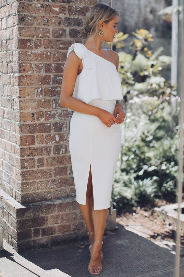 Preorder Date Night Dress - White-Dresses-Style State-ESTHER & CO.