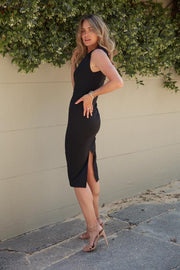 Dreamz Dress - Black-Dresses-Womens Clothing-ESTHER & CO.