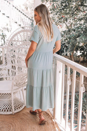 Emily Dress - Sage-Dresses-Womens Clothing-ESTHER & CO.