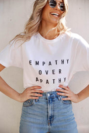 Empathy Tee-Tops-Womens Clothing-ESTHER & CO.