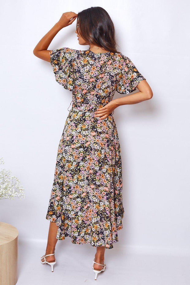 Ethereal Dress - Print-Dresses-Womens Clothing-ESTHER & CO.