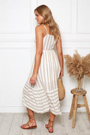 Flaunt Dress - Stripe