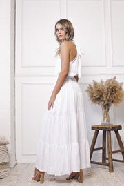 Fleet Dress - White