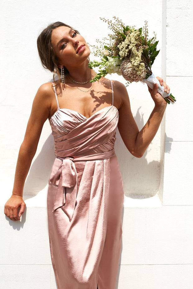 Frangipani Dress - Blush