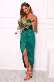 Frangipani Dress - Emerald