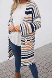 Snuggles Cardigan - Stripe