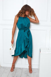 Georgie Dress - Emerald
