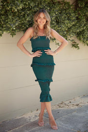 Havanna Dress - Emerald