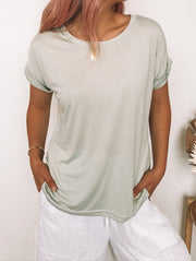 Hawkins Top - Sage-Tops-Womens Clothing-ESTHER & CO.