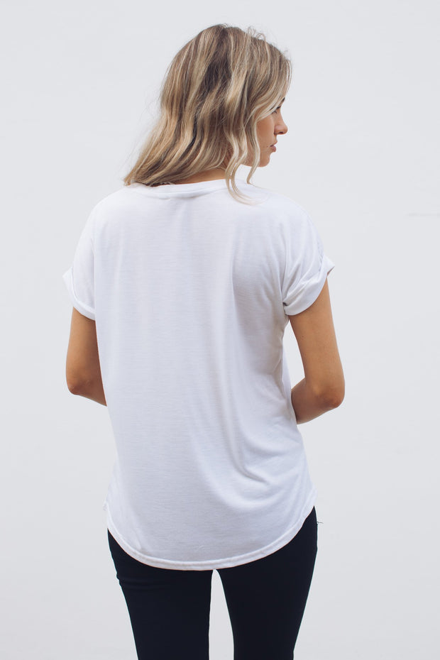 Hawkins Top - White-Tops-One Love-ESTHER & CO.