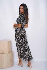 Honeydew Dress - Black Print