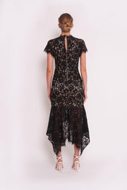 Hyatt Dress - Black-Dresses-Womens Clothing-ESTHER & CO.