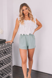 Janet Top - White-Tops-Womens Clothing-ESTHER & CO.