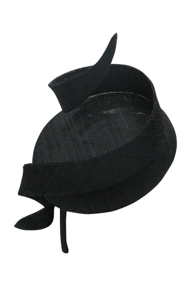 Jennifer Fascinator - Black-Fascinators-Womens Accessory-ESTHER & CO.
