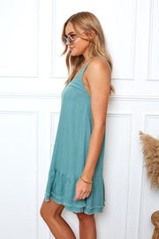 Kawaii Dress - Teal