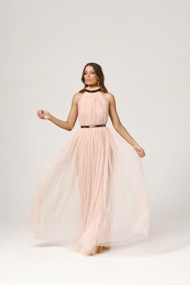 Kenzie Dress - Pale Pink-Dresses-Womens Clothing-ESTHER & CO.