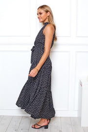 Kezia Dress - Black Print
