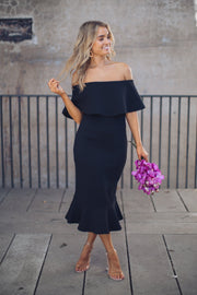 Kirby Dress - Black-Dresses-global fashion house-ESTHER & CO.