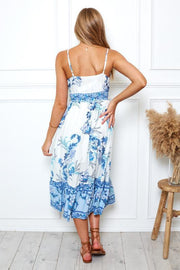 Lani Dress - Blue Print