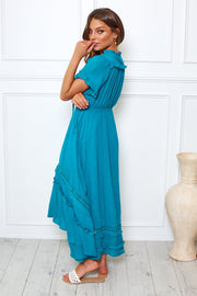 Lasso Dress - Teal