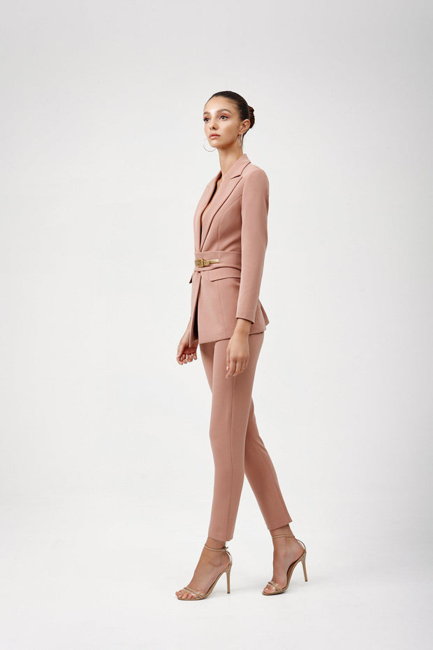 Lilou Pant - Dusty Pink-Pants-Womens Clothing-ESTHER & CO.