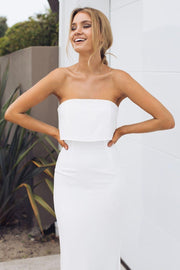 Preorder Lily Maxi Dress - Ivory-Dresses-Esther Luxe-ESTHER & CO.