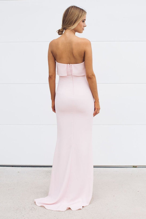 Preorder Lily Maxi Dress - Pink-Dresses-Esther Luxe-ESTHER & CO.