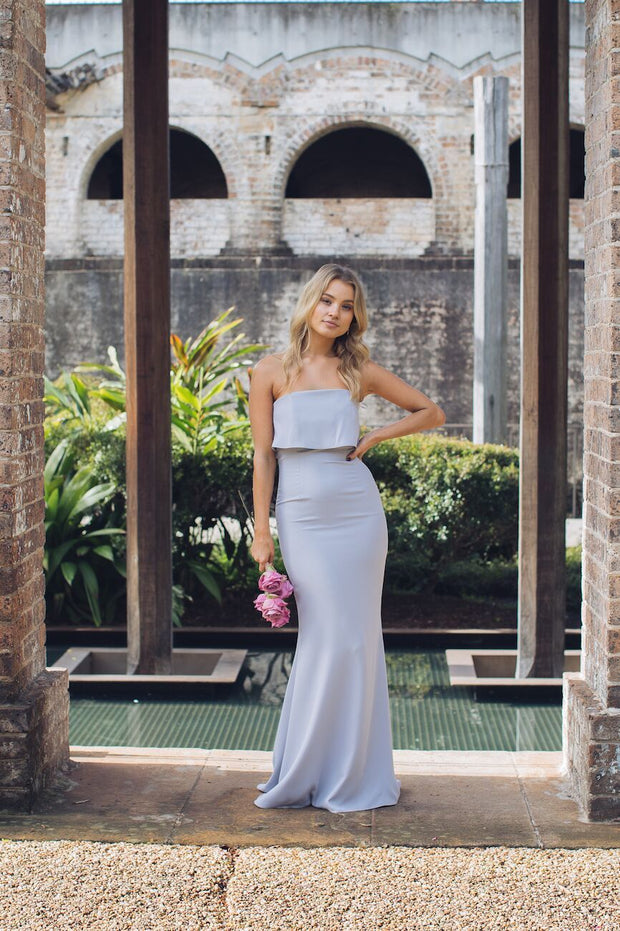 Lily Maxi Dress - Silver