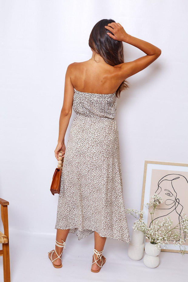 Lioness Dress - Print-Dresses-Womens Clothing-ESTHER & CO.