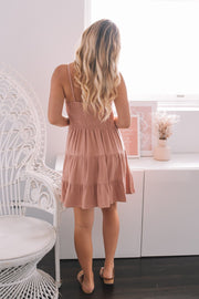 Madelyn Dress - Pink-Dresses-Womens Clothing-ESTHER & CO.