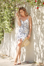 Magnifique Dress - White Print