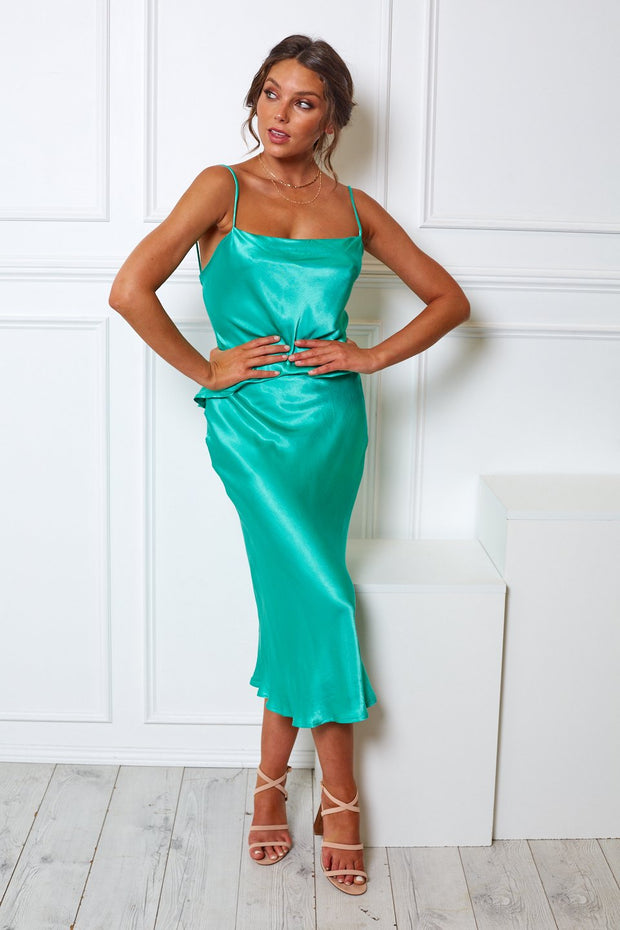 Margarita Dress - Emerald