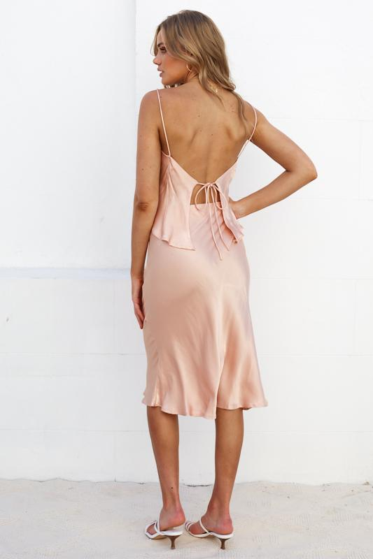 Margarita Dress - Peach
