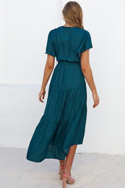 Meadow Dress - Emerald-Dresses-Womens Clothing-ESTHER & CO.