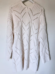 Moneta Cardigan - Cream-Cardigans-Womens Clothing-ESTHER & CO.