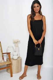 Moto Dress - Black