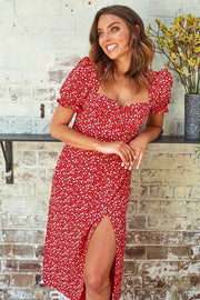Neagan Dress - Print-Dresses-Womens Clothing-ESTHER & CO.