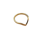 V Band Ring-Rings-Womens Accessory-ESTHER & CO.