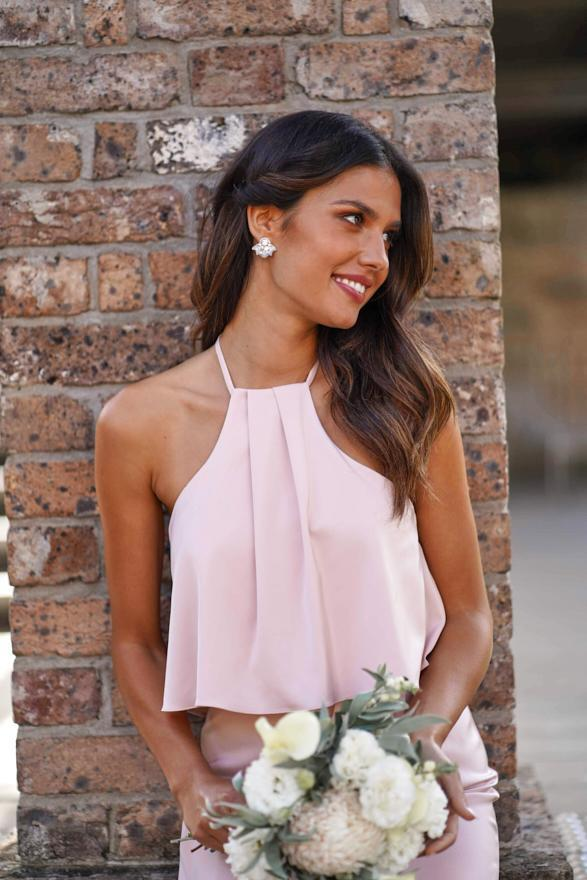 Peony Dress - Blush