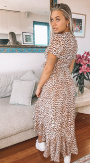 Junglebook Dress - Leopard Print