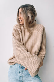 Coaching Knit - Mocha