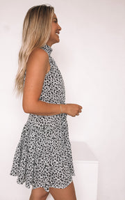 Mariee Dress - Black Print