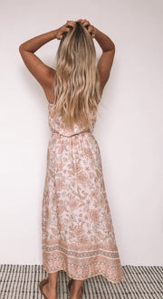 Kai Dress - Peach Print