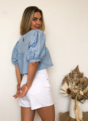 Darcie Top - Blue