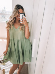 Emillia Dress - Green