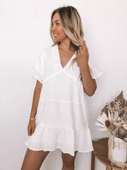 Konoha Dress - White