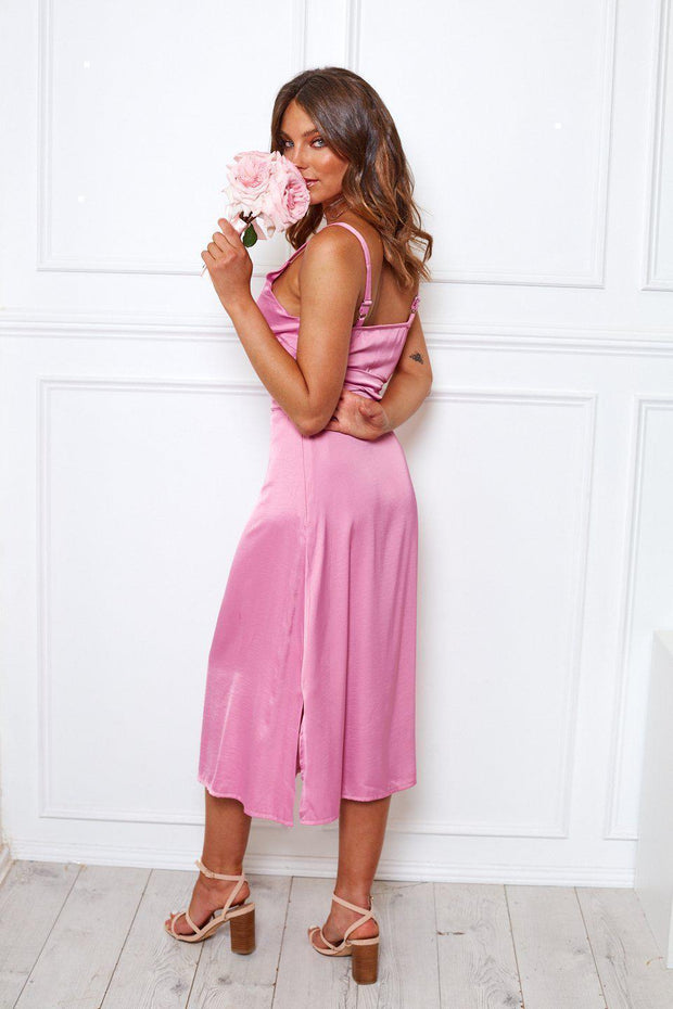 Preorder Poppy Dress - Pink-Dresses-Womens Clothing-ESTHER & CO.