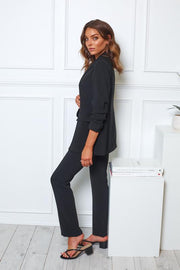 Power Pants - Black-Pants-Womens Clothing-ESTHER & CO.