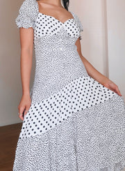 Mambo Dress - White Print