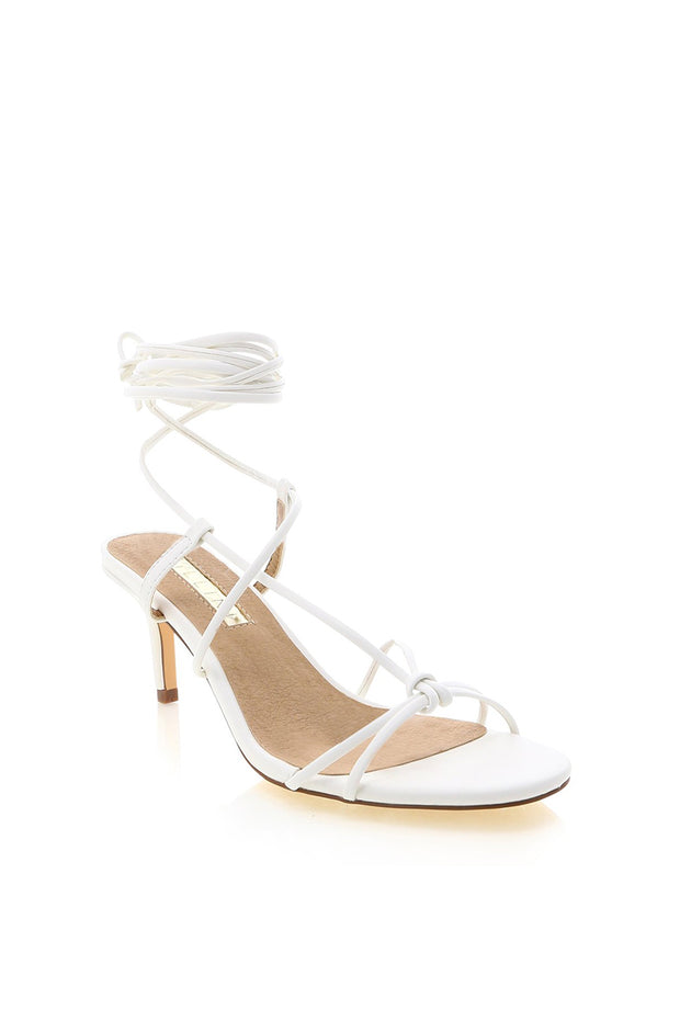 Queenie Heels - White